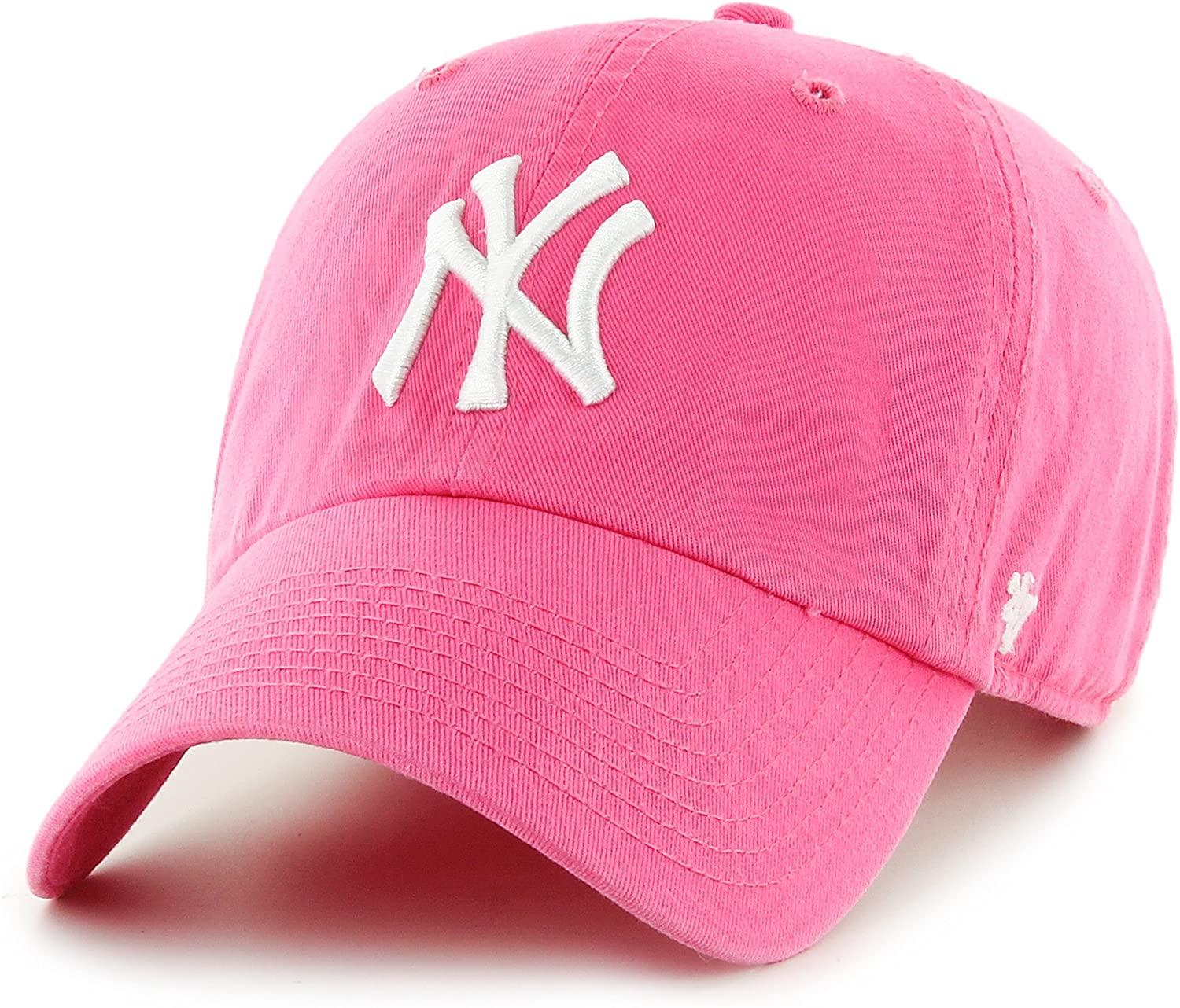 '47 York Yankees Clean Up Cap - Magenta