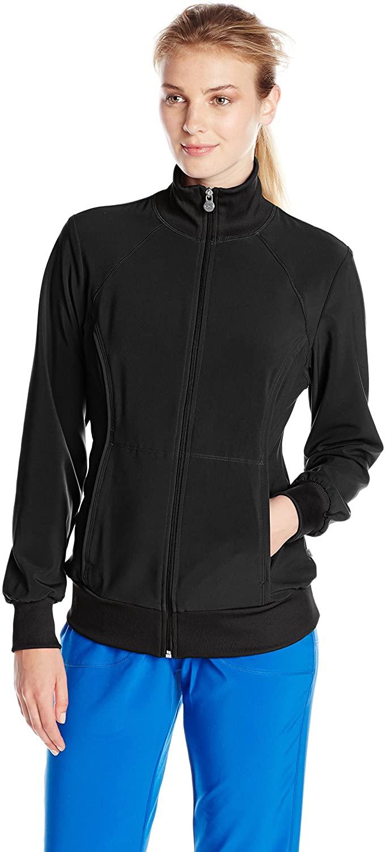 CHEROKEE Women's Infinity Zip Front Warm-up Jacket