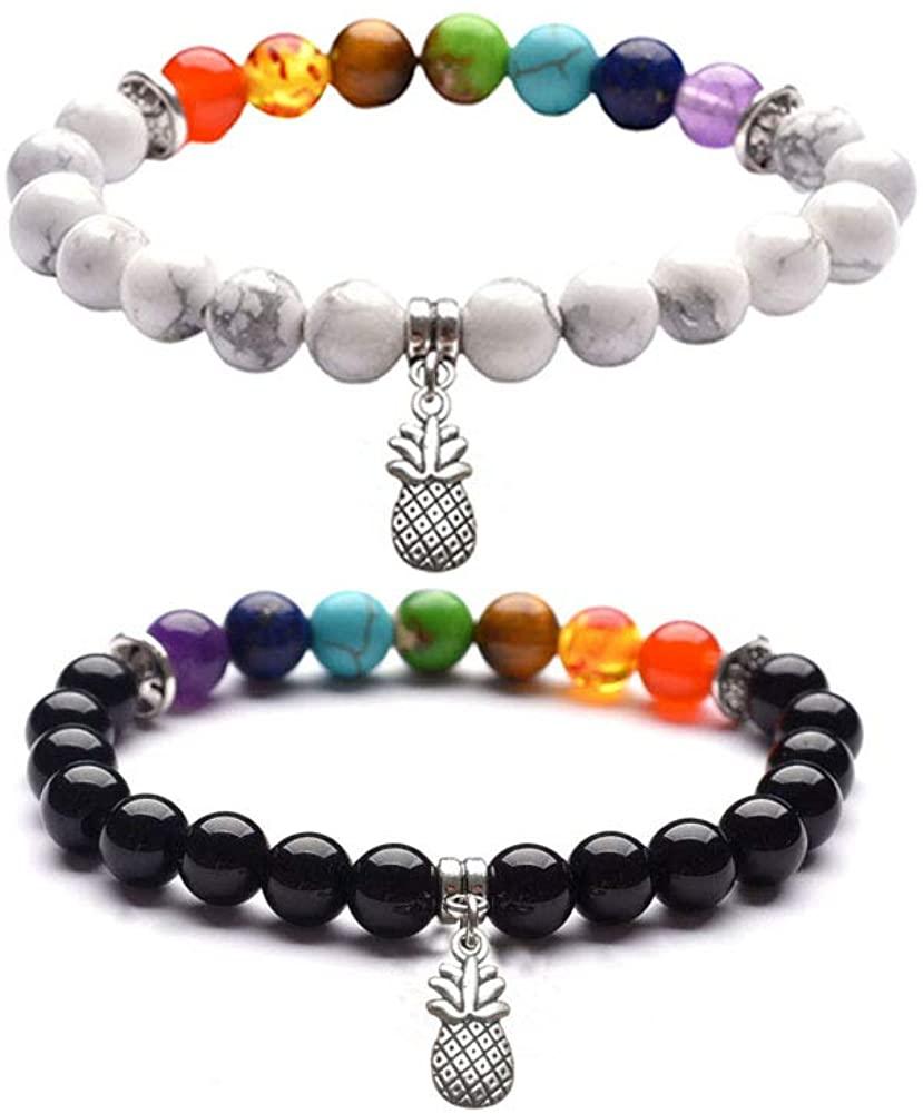 Fashion Natural Stone Bead Bracelet Buddha head Black Lava Stone Bangle For Men Women Charm Jewelry