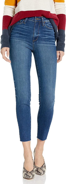 PAIGE Women's Margot High Rise Ultra Skinny Crop Jean
