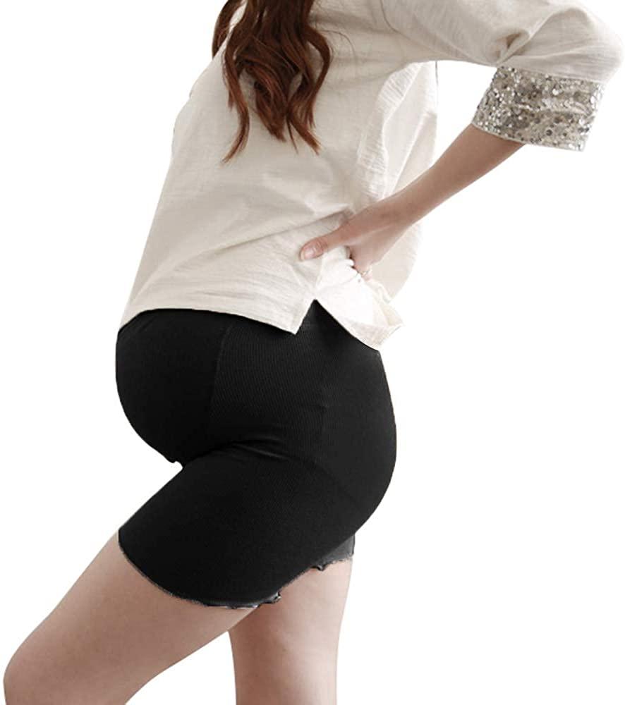 NIliker Women Under Dress Pregnancy Short Leggings Maternity Soft Shorts Underwear
