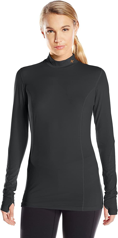 Tommie Copper Women's Performance Sprinter Long Sleeve Mock Neck Shirt