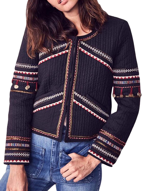 LOVESHACKFANCY Women's Naya Moroccan Embellished Jacket