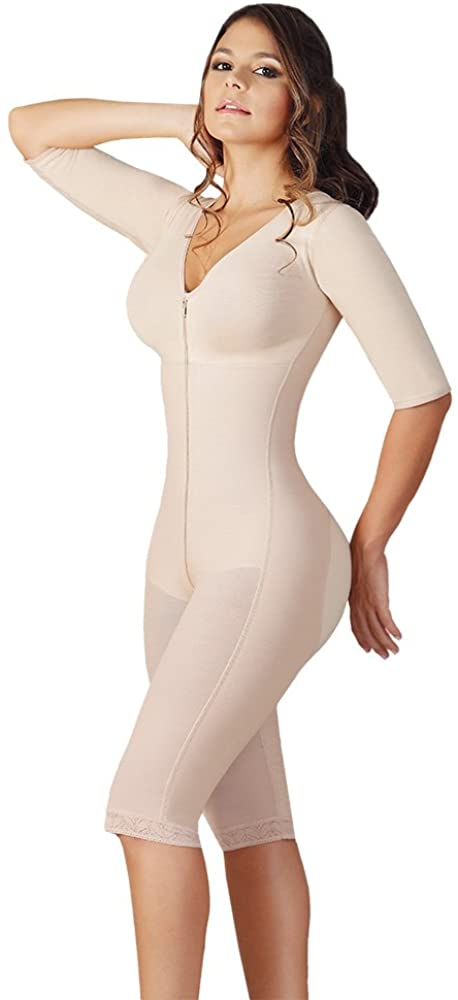 Salome Liposculpture Girdle with Sleeves and Bra 0524