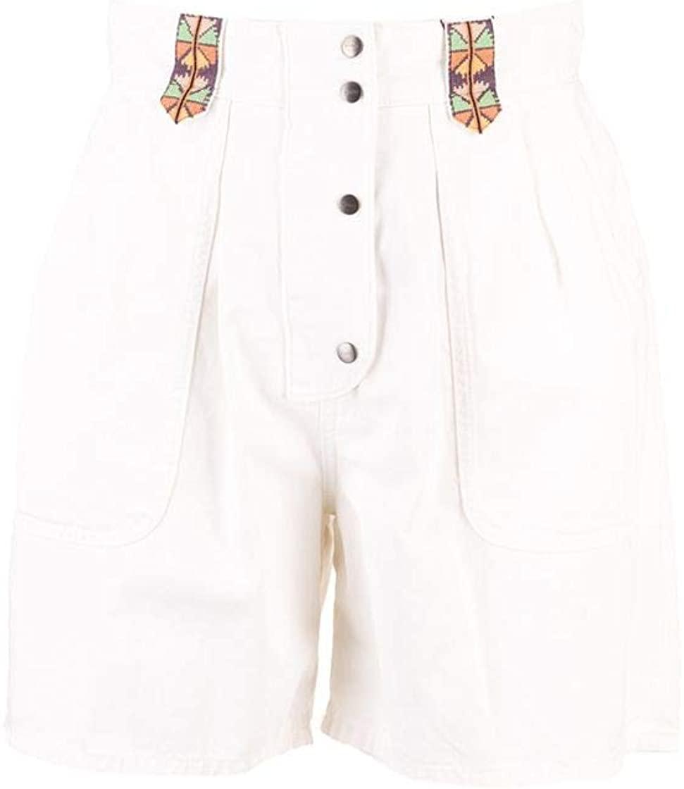 ETRO Luxury Fashion Woman 1332879550990 White Cotton Shorts | Spring Summer 20