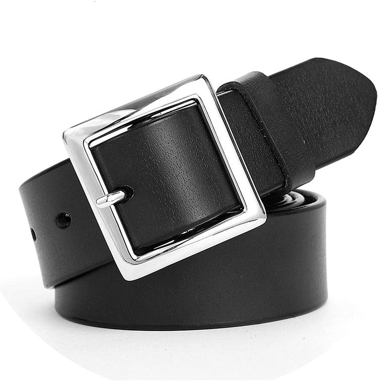 Women Leather Belt Women Fashion Alloy Pin Buckle Beltcasual Dress Cowboy Imitation Leather Belt