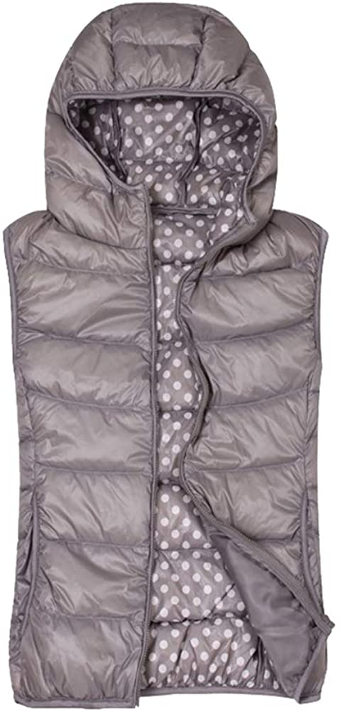 Icegrey Womens Winter Padded Vest Hooded Outerwear Jacket