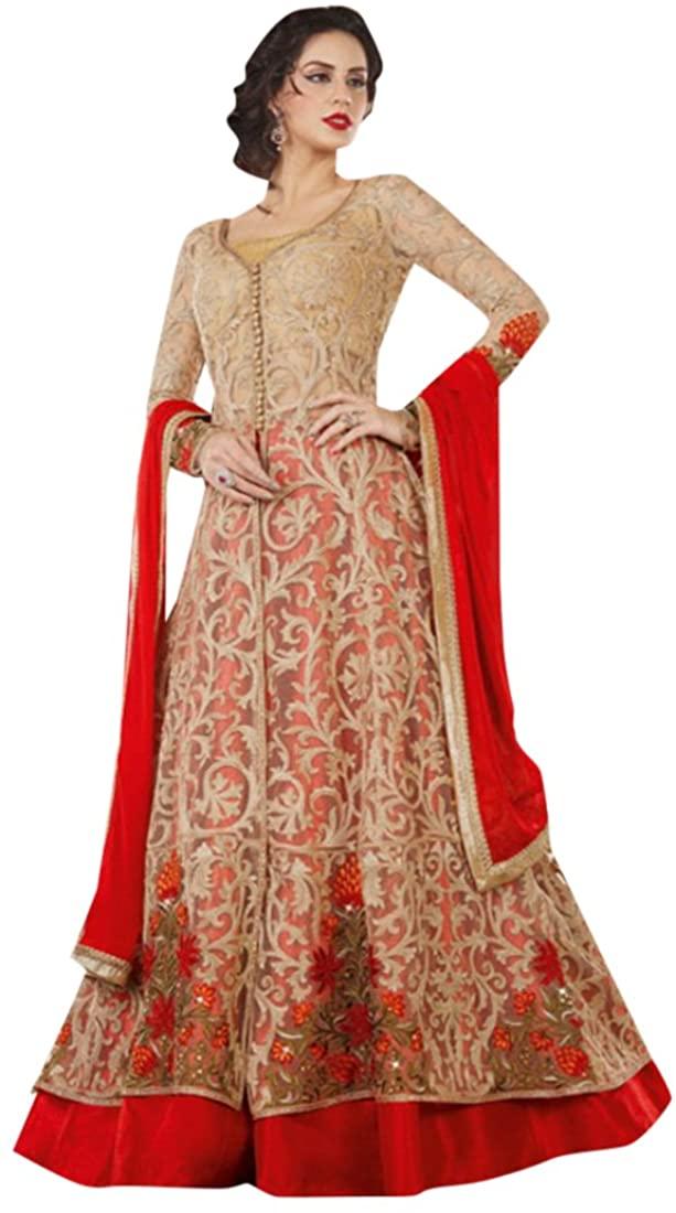 Bollywood Collection Women Floor Length Anarkali Salwar Suit Custom to Measure Indian Ethnic Bridal Wedding Ceremony Muslim Eid 2637 4