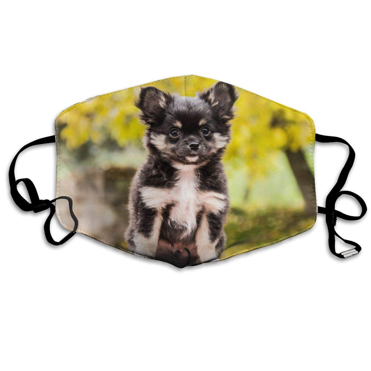 Chihuahua Dogs Animals Breathable 3d Tube Seamless Durable Face Bandana