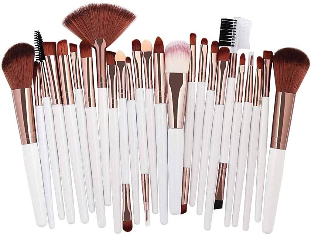 Ackful25pc Cosmetic Makeup Brush Blusher Eye Shadow Brushes Set Kit