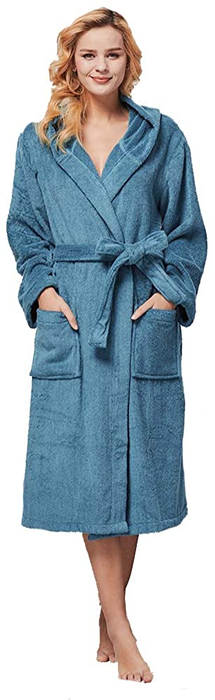 beryris Luxury Bathrobe for Women - Women's Terry Cloth Robe in Bamboo Viscose,Thick Material,Towel Terry Fabric …