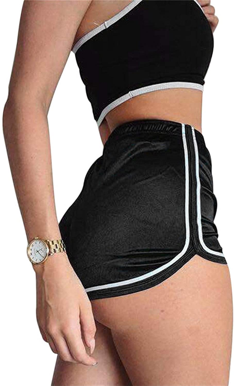 Ivan Johns Ladies Silk Shorts 2018 Summer Slim Fit Elastic Booty Shorts for Women Hot Sexy Pole Dance Shorts Pantalon Femme