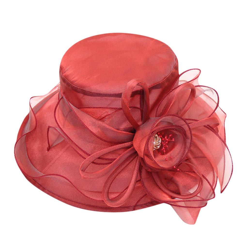 Zivock Hats for Men, Women's Church Kentucky Daily Fascinator Bridal Tea Party Wedding Cap