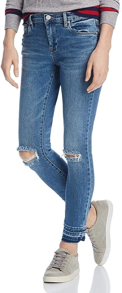 [BLANKNYC] Womens Denim Distressed Skinny Jeans