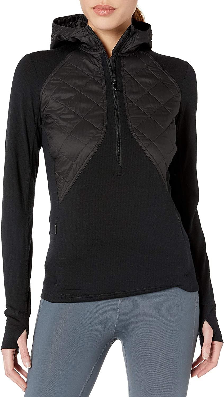 Icebreaker Merino Women's Ellipse Long Sleeve Half Zip Hoodie