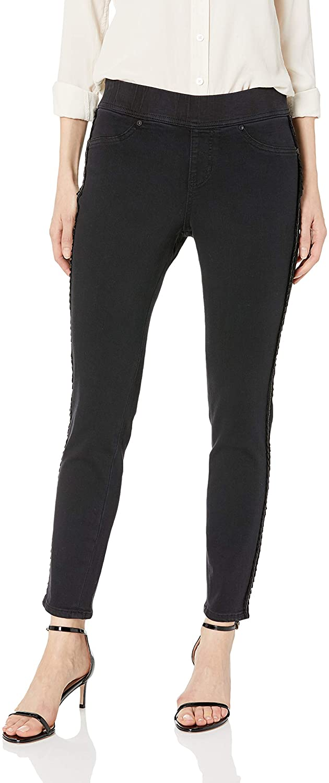 Jag Jeans Women's Marla Denim Legging W/Tuxedo Stripe