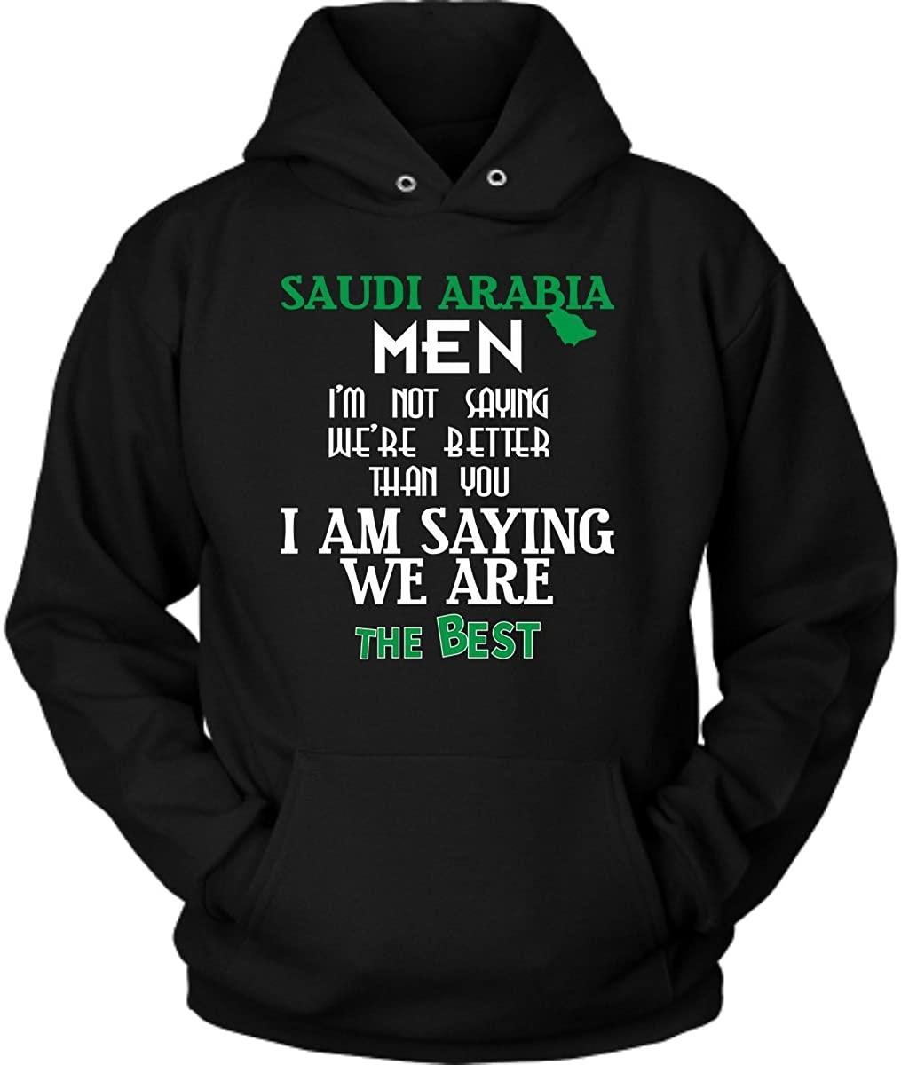 District Hoodies Saudi Arabia Hoodie. Cute and Funny Gift Idea.