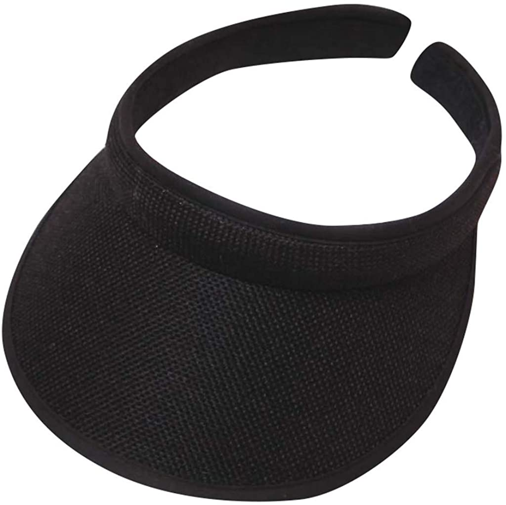 GdoI Ultralight Visor with Twill, Moisture Wicking and Reflective Sports Visor, Multiple Colors