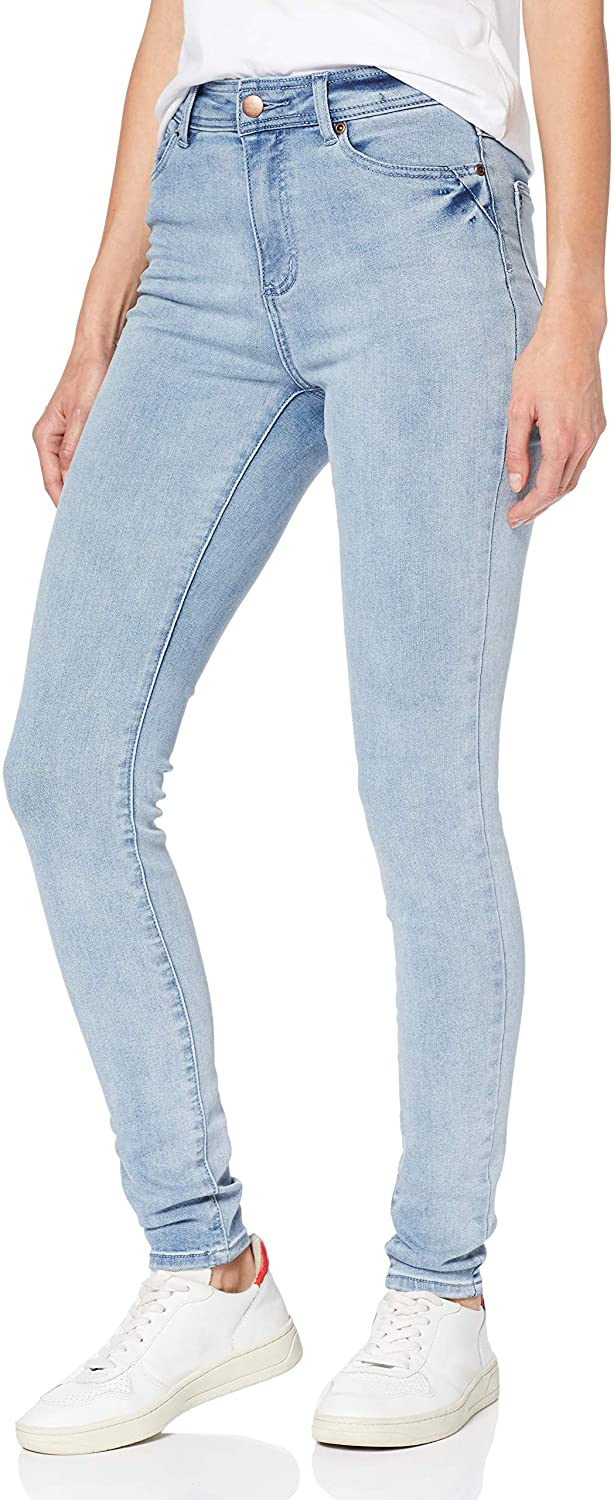 DHgate Brand - find. Women's Skinny Mid Rise Jeans, Ice Wash, W28 x L32