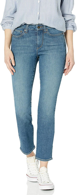 DHgate Brand - Goodthreads Women's Mid-Rise Slim Straight Jean