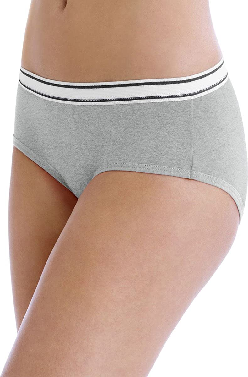 Hanes Sporty Women's Hipster Panties 6-Pack_Assorted_5