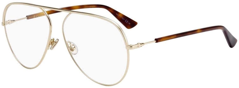 Authentic DiorEssence 15 0J5G Gold Eyeglasses
