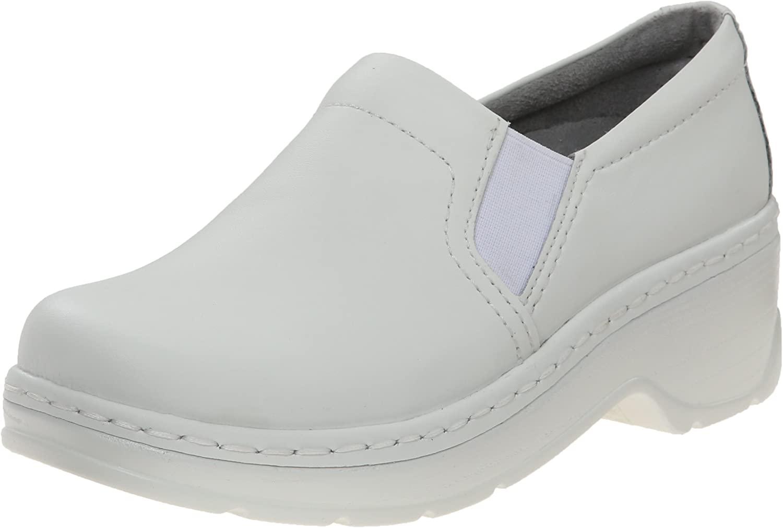 Klogs Women's Naples White Leather Clog/Mule 5 M (C)