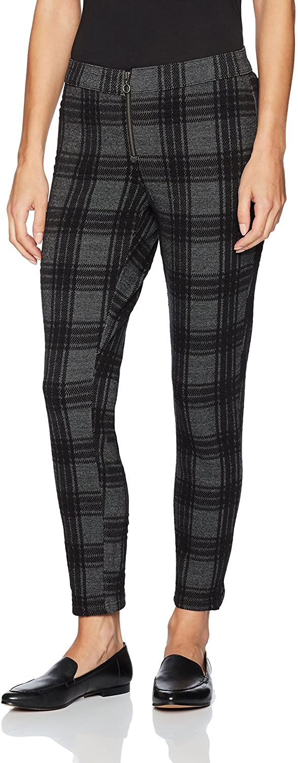 HUE Women's  Plaid Skimmer Leggings