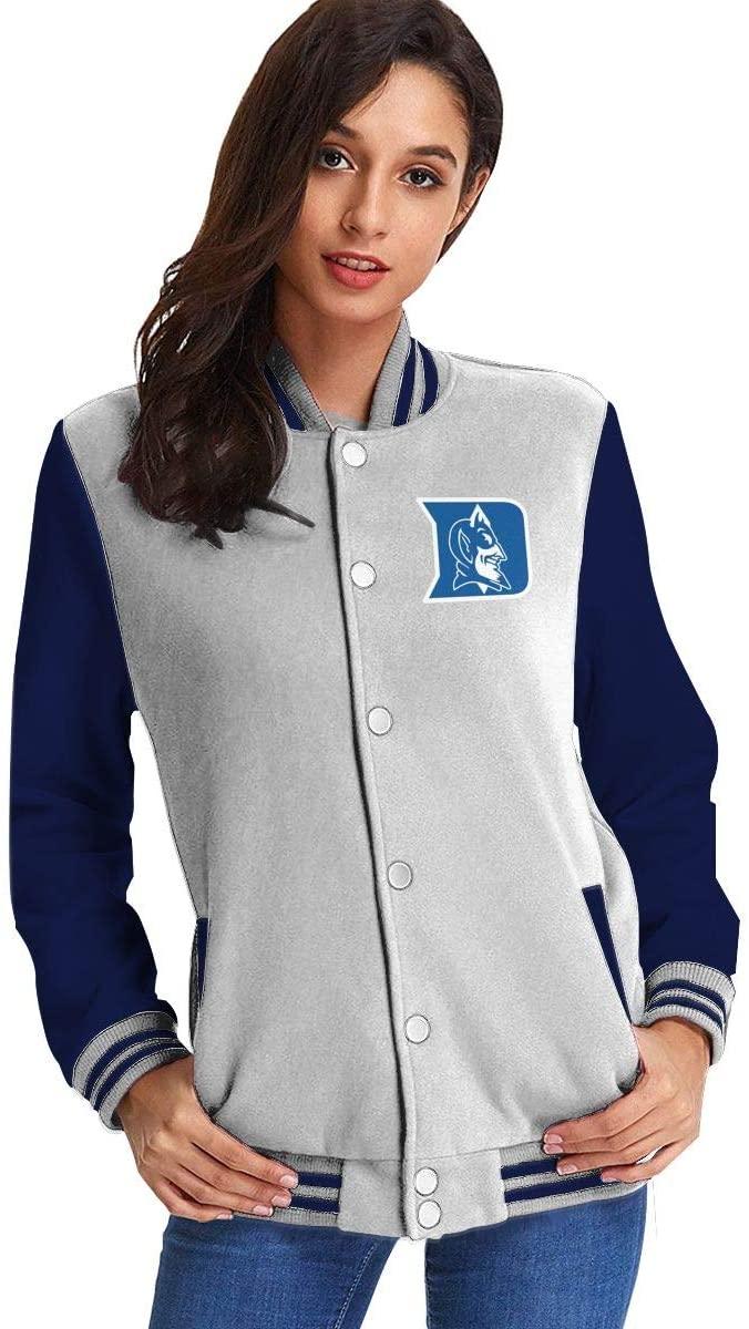 NOT Duke Blue Devils Start of Season Women's Plus Velvet Baseball Uniform