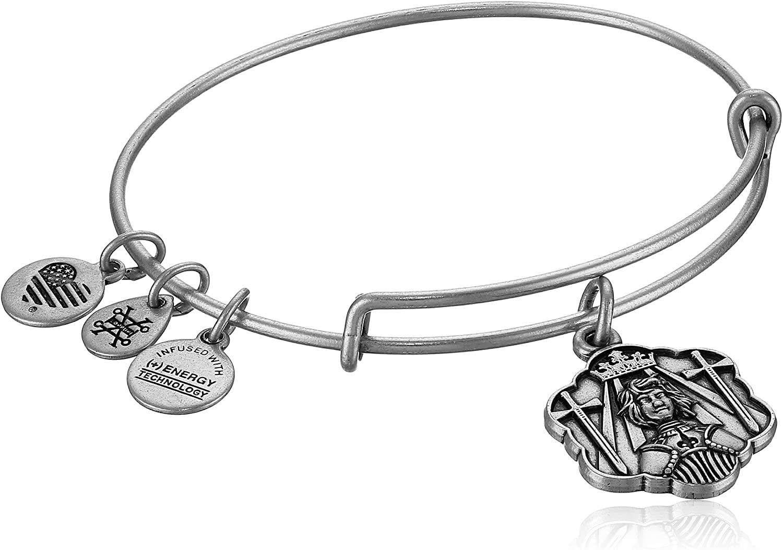Alex and ANI Joan of Arc Bangle Bracelet, Expandable
