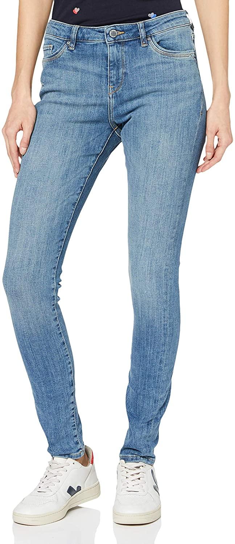 Esprit Women's Vintage Effect Super Stretch Jeans