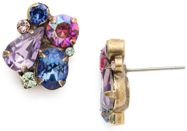 Sorrelli Wildflower Womens Daffodil Stud Earrings, Multi, 1