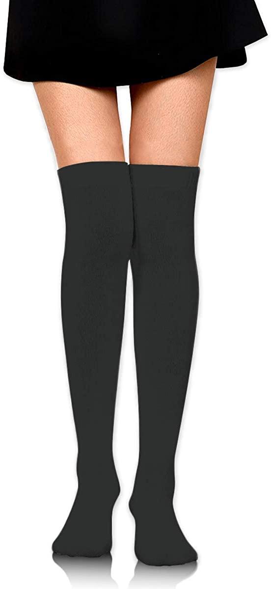 Dress Socks Print Baseball Ball Stitching Laces High Knee Hose Tights Stocking