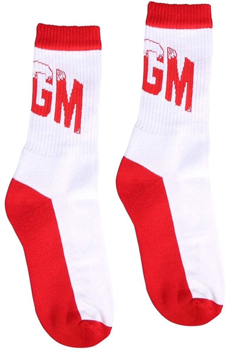 Luxury Fashion   Msgm Woman 2841MDS0620724818 White Cotton Socks   Spring Summer 20