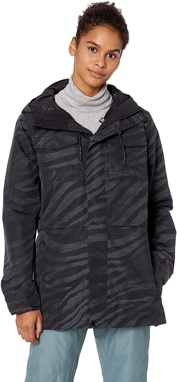 Volcom Women's Leeland Micro Fleece Lined Snow Jacket