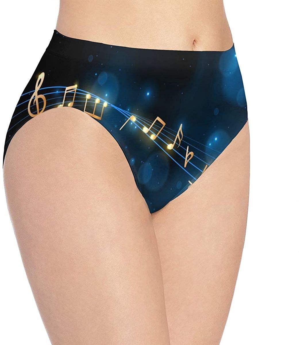 YQINING Womens Seamless Underwear Merry Christmas Bikini Panties Stretch Briefs Laser Cut