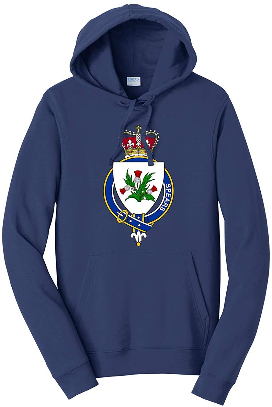Tenacitee Unisex Scottish Garter Family Spears Hooded Sweatshirt