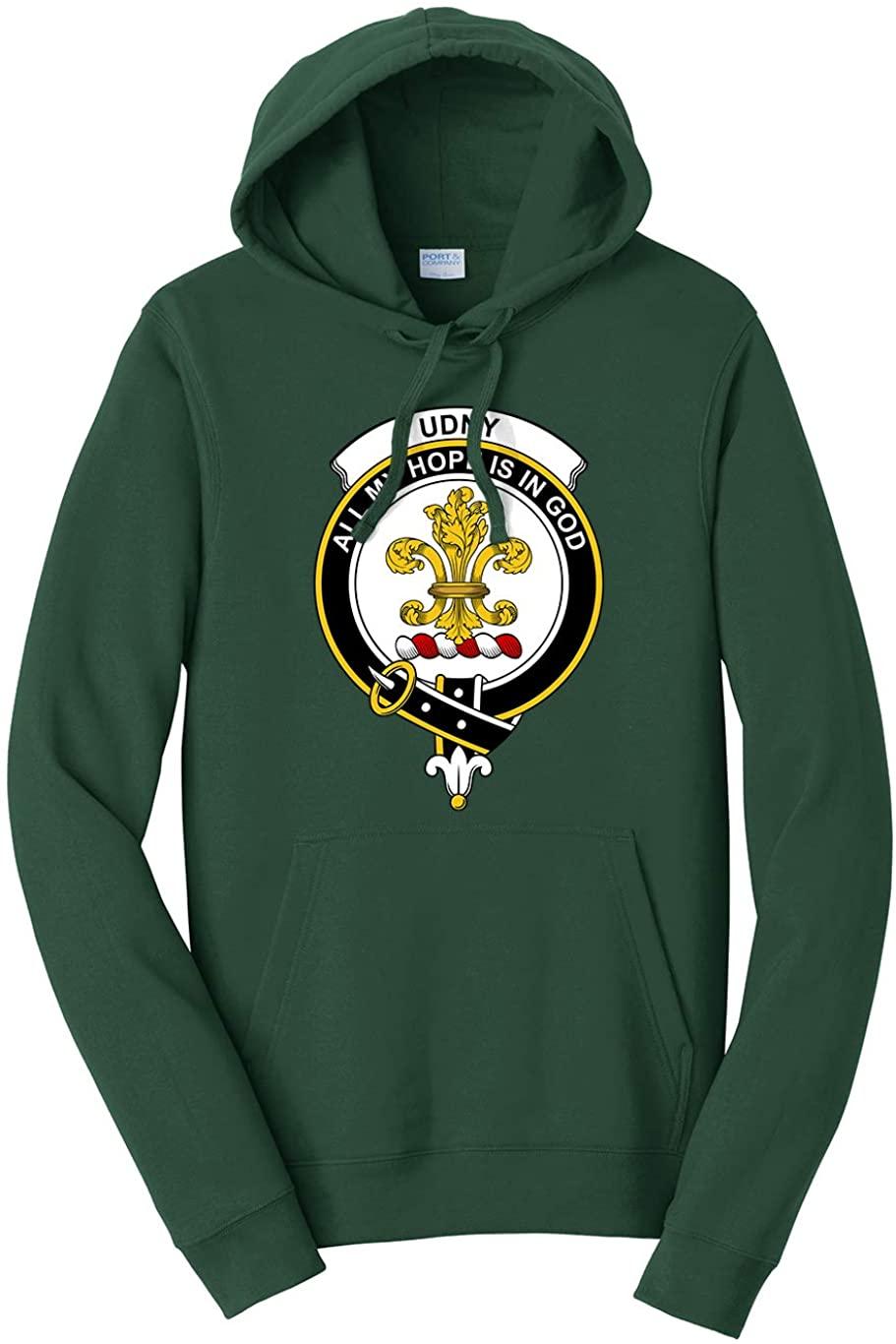 Tenacitee Unisex Scottish Clan Crest Badge Udny Hooded Sweatshirt
