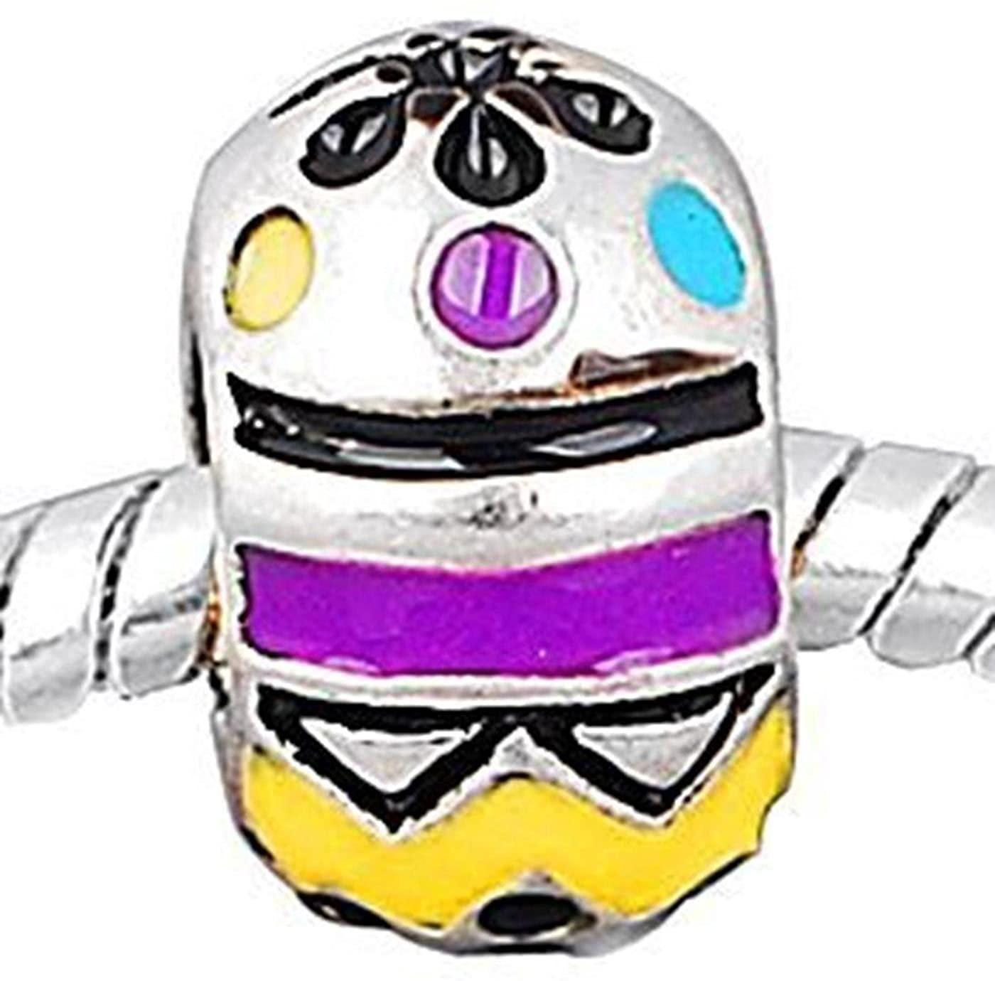 Charm Buddy Easter Egg Jewelry Charm Fits Silver Pandora Style Bracelets