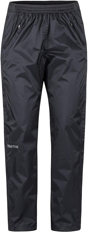 Marmot Women's PreCip Eco Full Zip Pant Short - Black - Small