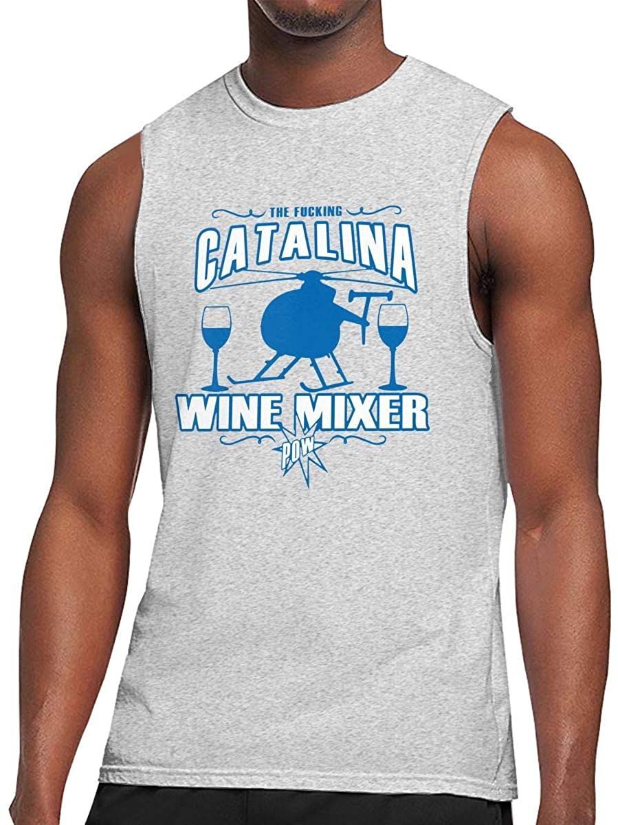 Fucking Catalina Wine Mixer Dancing Funny Mens Mmuscle Tank Tops