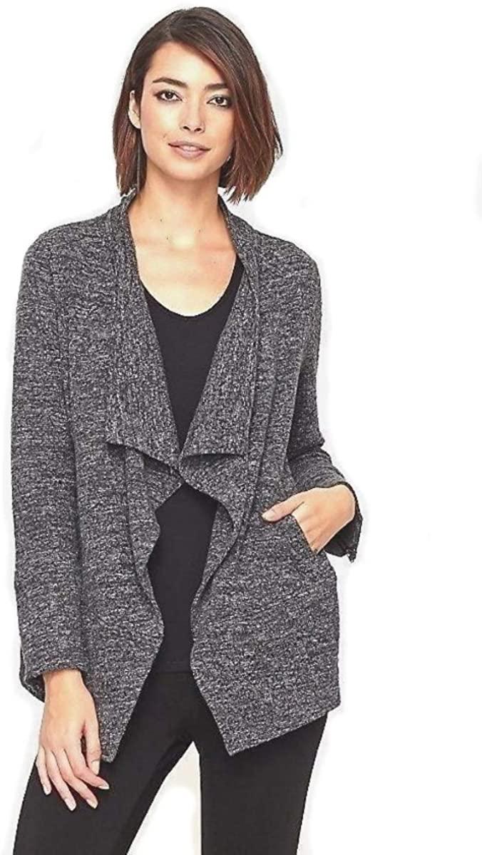 Eileen Fisher Stretch Jacquard Knit Jacket S M L MSRP $338.00