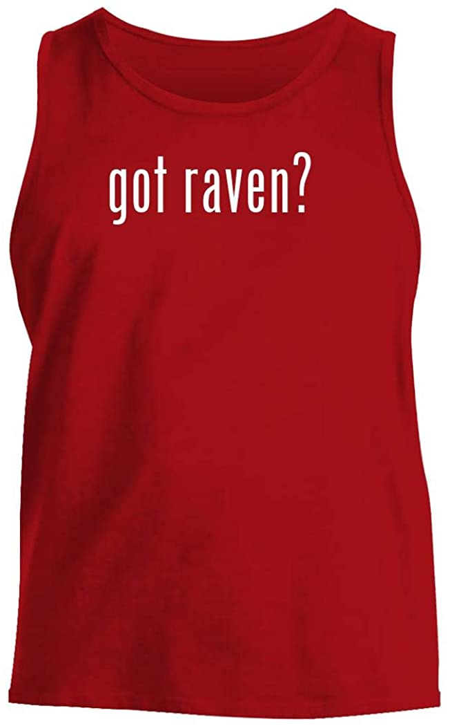 got raven? - Men's Comfortable Tank Top, Red, Medium