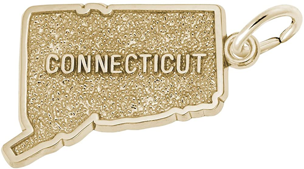 Connecticut Charm, Charms for Bracelets and Necklaces