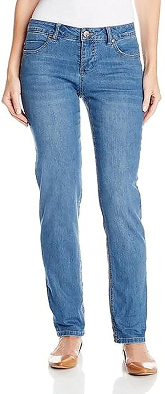 Gloria Vanderbilt Women's Amanda Original Slimming Jean (Size 12 Short, Color Maya Wash)