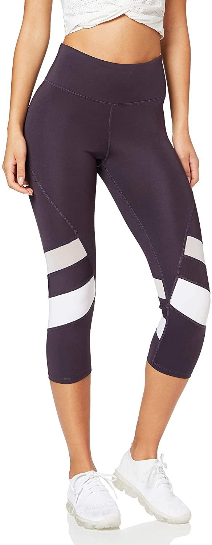 DHgate Brand - AURIQUE Women's  Capri  Panelled Sports Leggings