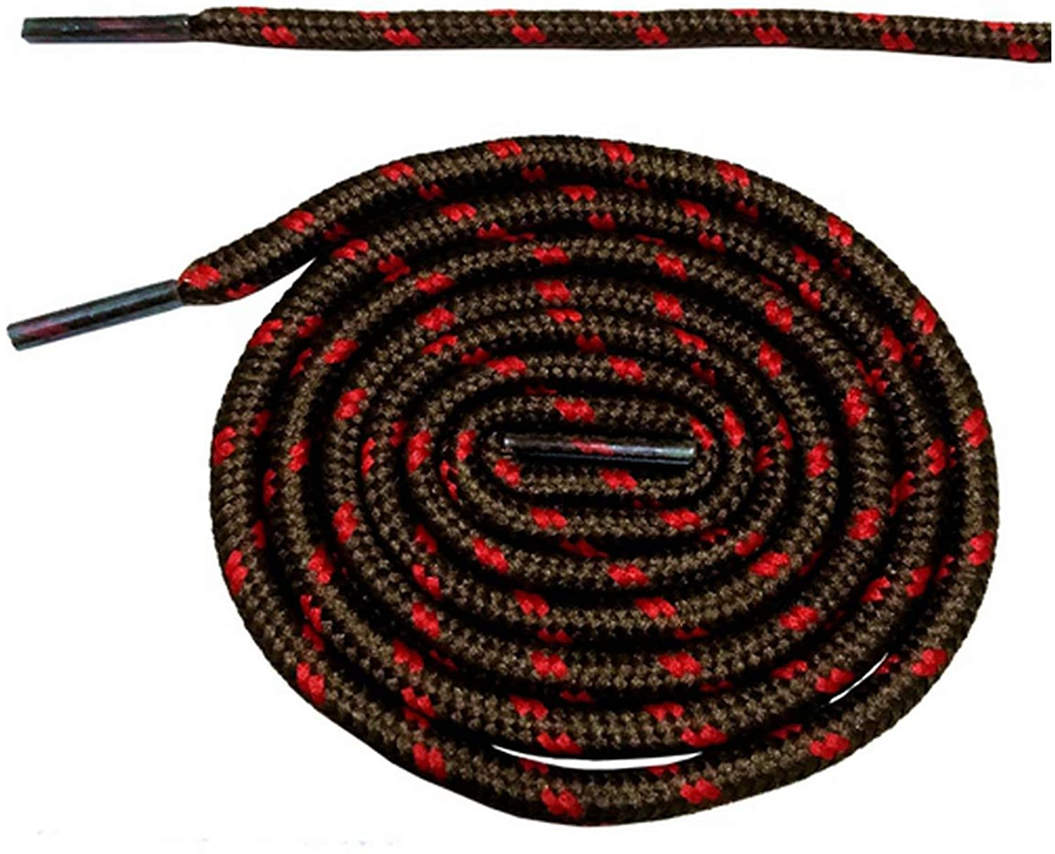 Round Shoelaces Boots Shoe Laces Cord Ropes Shoestrings with Dots 180cm/70.5