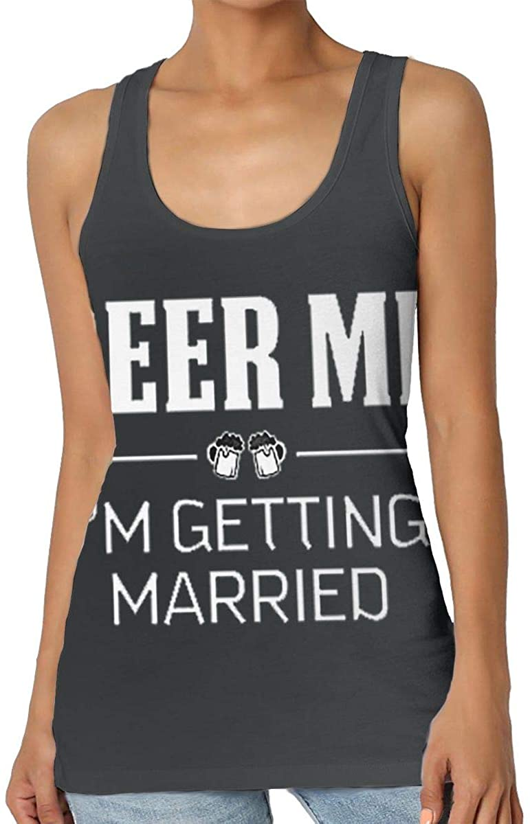 Beer Me I'm Getting Marrie Ladies Seamless Classic Vest