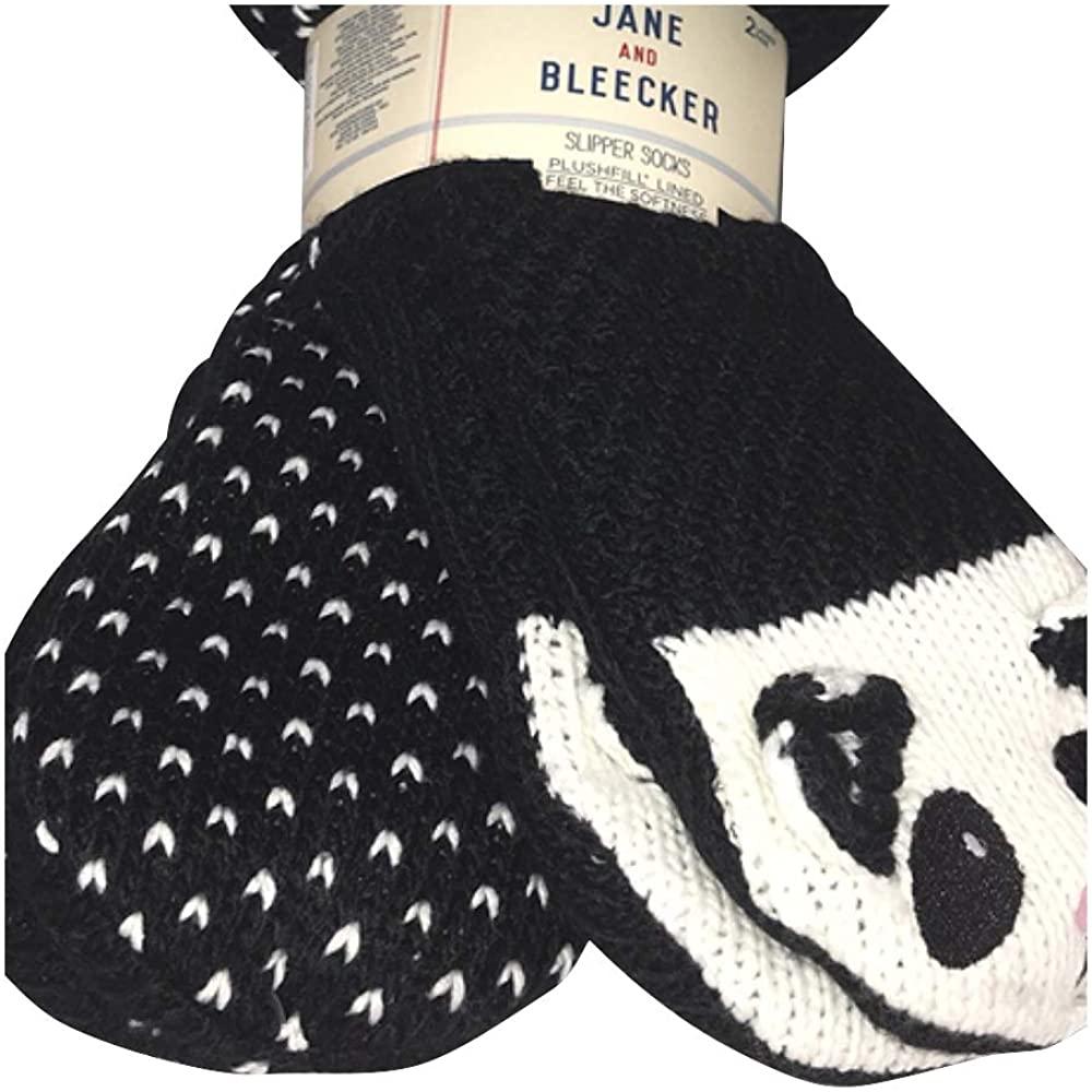 Jane & Bleecker 2 Pair Slipper Socks for Ladies size 4-10