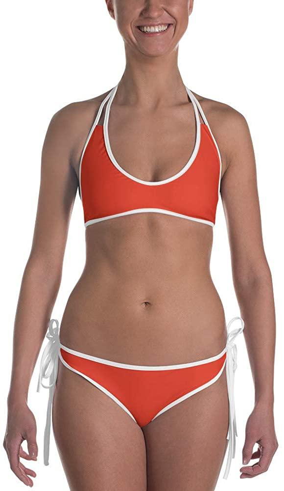 Nordix Limited Cherry Tomato Trendy Bikini Set